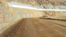 Muna Bölgesi Dağ Kanalları ve Hizmet Yolu İnşaatı. / Suudi Arabistan